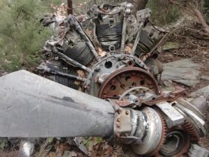 Motor desprès del fusellatge